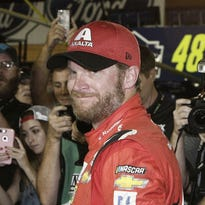 Dale Earnhardt Jr. gets spotlight at farewell race