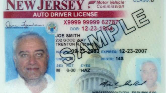Digital Collections/IPTC New Jersey driver's licenses must be renewed every four years, but the state only requires a vision test once every 10 years — the largest gap for any state that imposes vision tests. Measure (A4425), which would establish a drivers license for residents who cannot prove they are living in the U.S. legally.