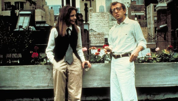Diane Keaton and Woody Allen in a scene from 'Annie