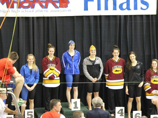 Five Salem swimmers and one from Plymouth placed in