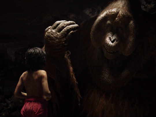 """The Jungle Book"" channels ""Apocalypse Now"" for a scene"