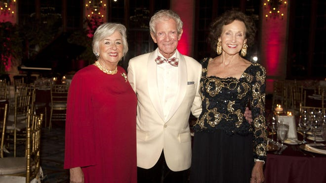Dale Coudert, Ford Lallerstedt and Brenda Boozer