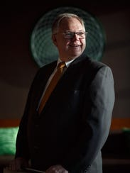 Charles Sukup, president of Sukup Manufacturing, poses