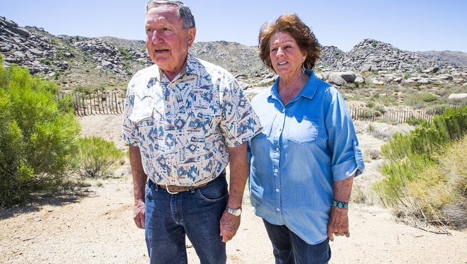 Lee and Diane Helm live only 600 yards from where the Granite Mountain Hotshots died.