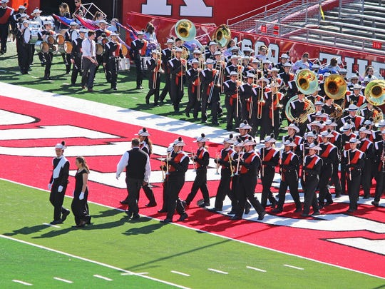 The Somerville High School Pioneer Marching Band finished