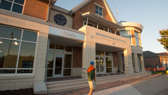 The city of Rehoboth is petitioning Chancery Court to grant it a clear title to property where it recently built a $21 million City Hall.