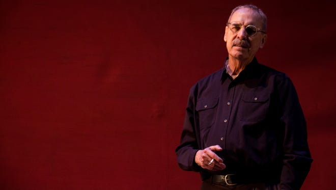 """John Maxwell plays abstract expressionist artist Mark Rothko in """"Red"""" at New Stage Theatre."""