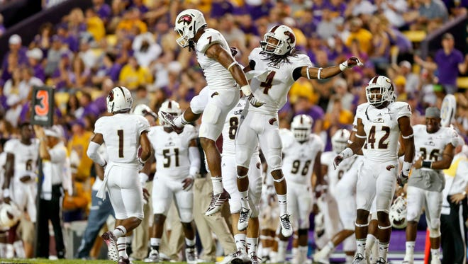 ULM finished the month of July by picking up five verbal commitments to its 2017 recruiting class.