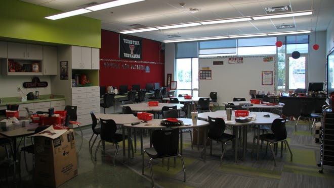 Desert Willow and Ocotillo Elementary schools are equipped with up to date technology and LED lighting. Both schools have been recognized this year for the Best Building Award by the Associated General Contractors of New Mexico.