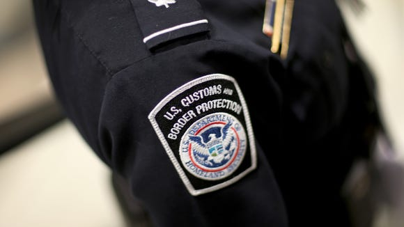 This file photo from March 2015 shows a U.S. Customs