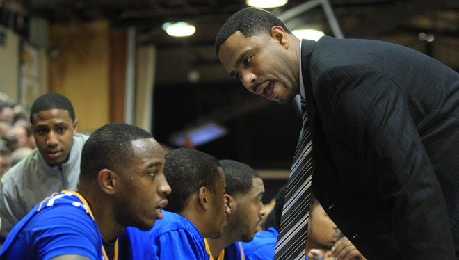 Mike Pegues served two seasons on Monte Ross' Delaware staff before going to Xavier.