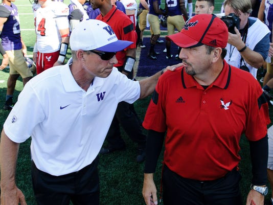 NCAA Football: Eastern Washington at Washington
