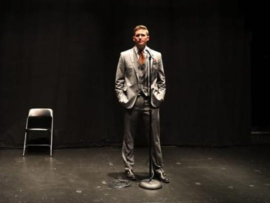 "White nationalist Richard Spencer, who popularized the term ""alt-right"" speaks during a press conference at the Curtis M. Phillips Center for the Performing Arts on October 19, 2017 in Gainesville, Florida. Spencer delivered a speech on the college campus, his first since he and others participated in the ""Unite the Right"" rally, which turned violent in Charlottesville, Virginia.  (Photo by Joe Raedle/Getty Images) *** BESTPIX ***"