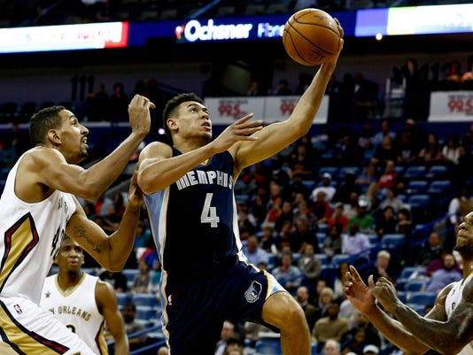 NBA: Memphis Grizzlies at New Orleans Pelicans