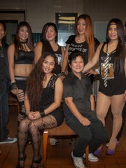 The Black Pearl Band featuring, Lope Esclanda- drummer. Singers Ara Torres, Ella Lazarra, Ken SAntos, Aiza DelaCruz.  Natz Moreto- Bassist, Anne Mutya keyboard and Levis Sta. Ana Guitar. They perform nightly at Chic Boy lounge in Upper Tumon.