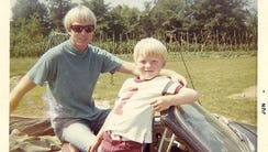Felix and Bill Vail, circa 1967.