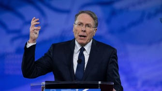 Wayne LaPierre, executive vice president and CEO of the National Rifle Association, speaks to the Conservative Political Action Conference.