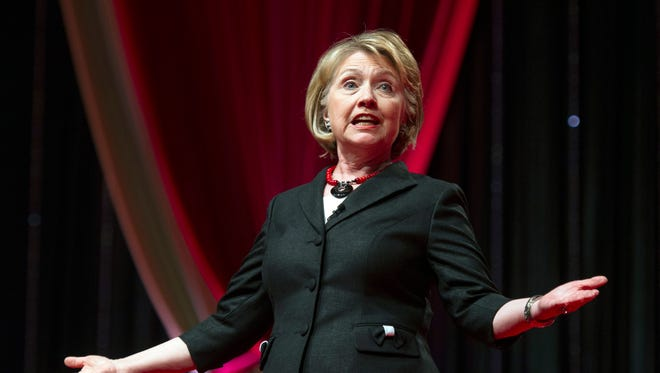 Hillary Clinton, a Democrat running for the White House in 2016, earned more than $5 million for her 2014 book in addition to over $25 million she and husband Bill earned since January 2014 on the speech circuit.
