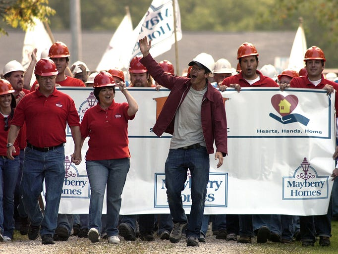 """Ty Pennington, host of ABC-TV's """"Extreme Makeover:"""