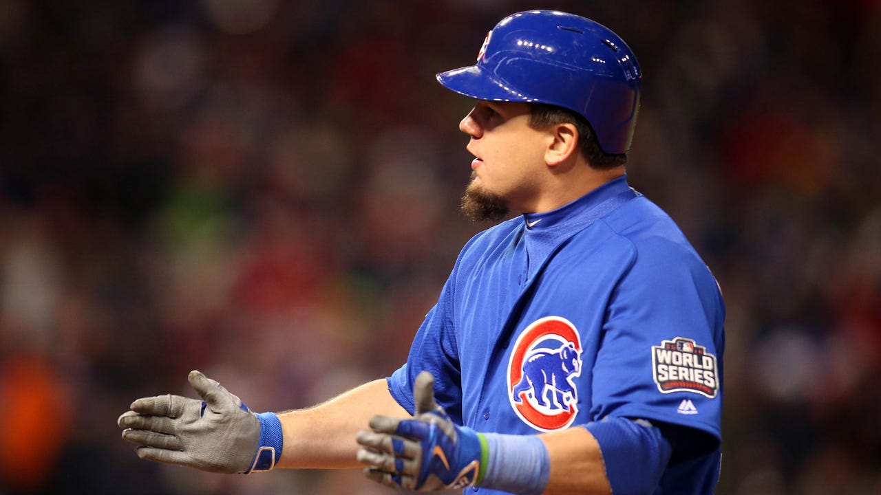 Kyle Schwarber leads Cubs offense in Game 2 of World Series