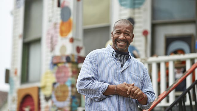 Founder Tyree Guyton at the Heidelberg Project. The Heidelberg Project will be part of Detroit Art Week.