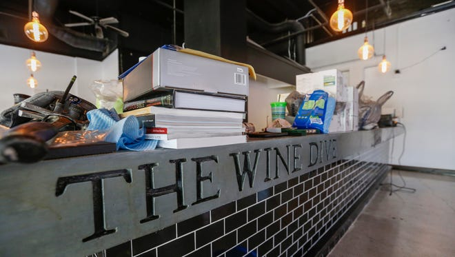 A new wine bar, The Wine Dive, will be going in at the former Blue Bull restaurant on Park Central Square. It is expected to open sometime between August and October.