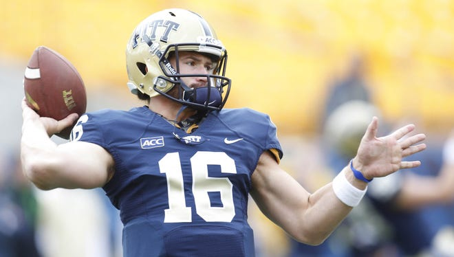 Chad Voytik is still early in his development at quarterback for Pittsburgh, but he is a multidimensional threat.