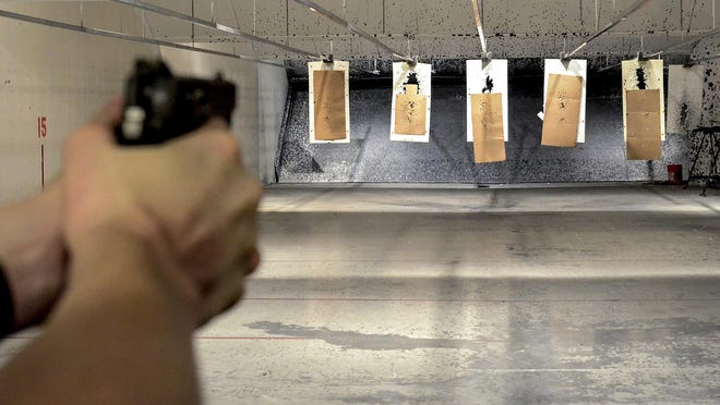 Plans are moving forward to replace the deteriorating Garden City Police Department's gun range, located under the skate park, with a new facility on old Highway 83 south of Garden City.