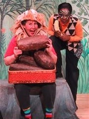 "Wild Swan Theater performs ""Drum Me a Story,"" Feb. 9-11, at Towsley Auditorium in Ann Arbor."