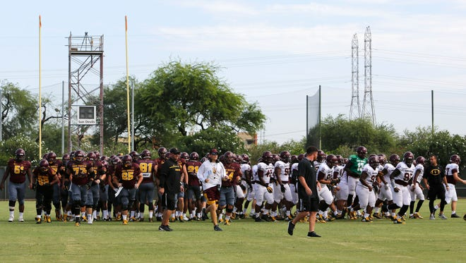 Walk-on linebacker Abe Thompson has taken a circuitous route to ASU, but may have done enough in fall camp to earn playing time in 2017.