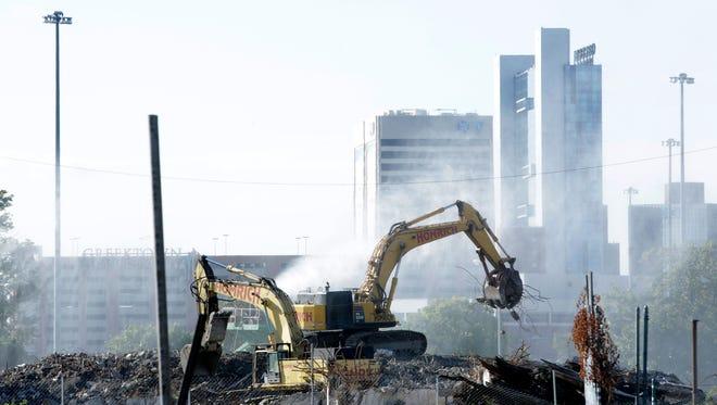 Detroit Mayor Mike Duggan has made demolition of blight one of his top priorities.
