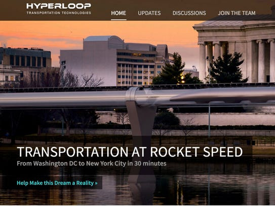 Hyperloop Transportation Technologies has announced