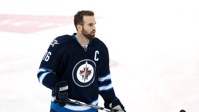 Andrew Ladd is headed back to Chicago after a trade this week.