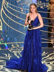 A big night for Brie Larson! She won best actress for
