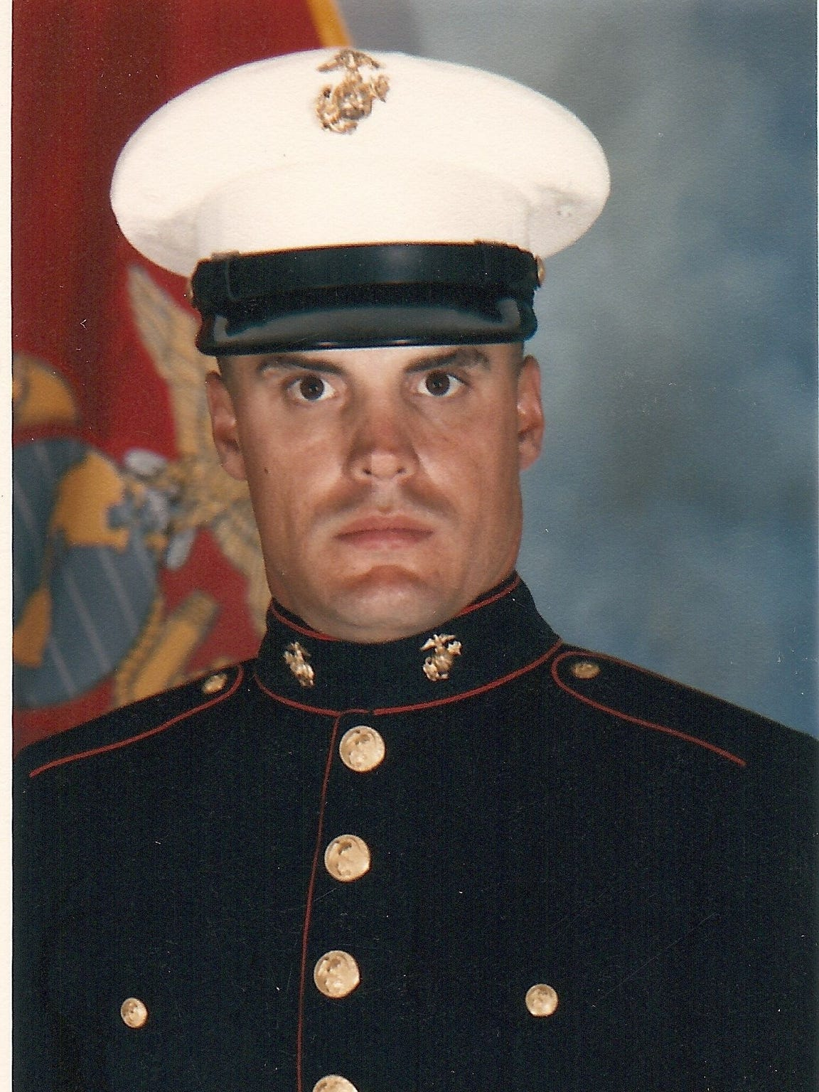 Wren Thomas graduated  from the Marine Corps in 1989.