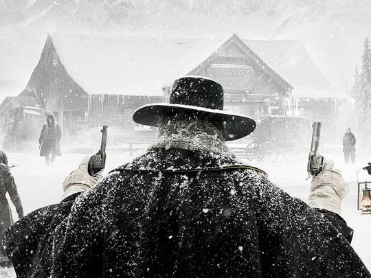 """A promotional image for Quentin Tarantino's """"The Hateful Eight."""""""