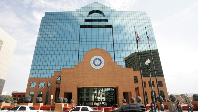 El Paso County Courthouse.