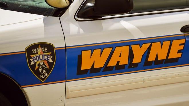 Wayne Police Department patrol car.