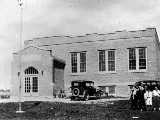 Taft School, town of Russell, circa 1929