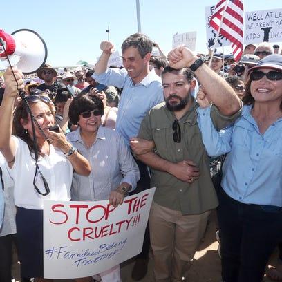 Democratic political leaders, including former El Paso