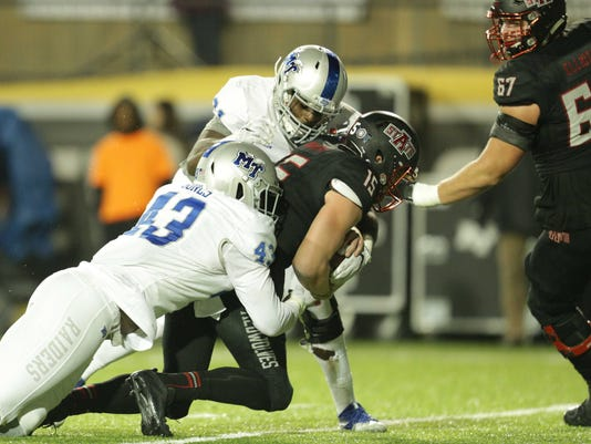NCAA Football:  Camellia Bowl-Arkansas State vs Middle Tennessee