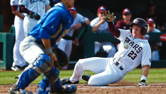 Freshman outfielder Jack Duffy went 3 for 4 in Missouri State's win over Southern Illinois on Friday.