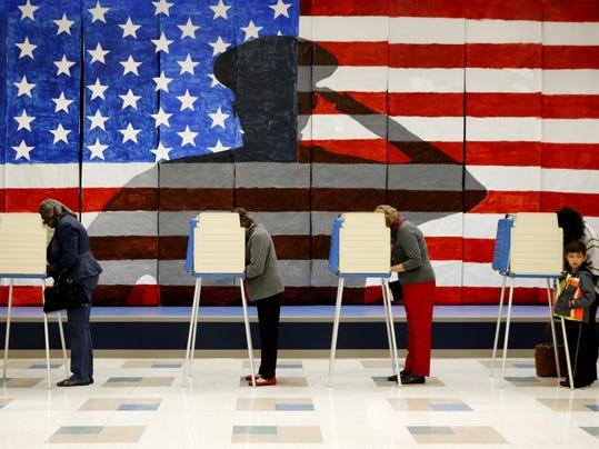 APTOPIX 2016 Election Virginia Voting