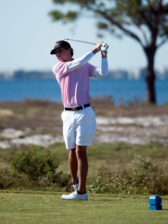 Boys 1-2A Regional Golf-Bonner