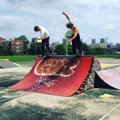 Tony Hawk: Double dipping in The D with @milesgizmo