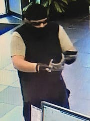 Johnston police are searching for the pictured suspect