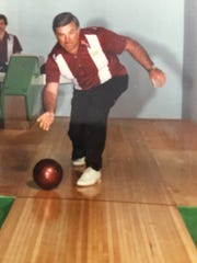 """Anthony """"Tony"""" Baccile of Horseheads was an avid bowler and had competed in leagues at Rossi Lanes in Elmira."""