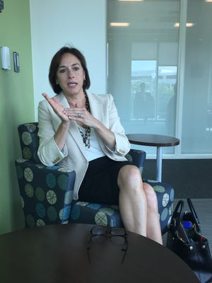 Dr. Karen DeSalvo, acting Assistant Secretary for Health at the U.S. Department of Health and Human Services, in an interview at the Metro Public Health Department on June 14.