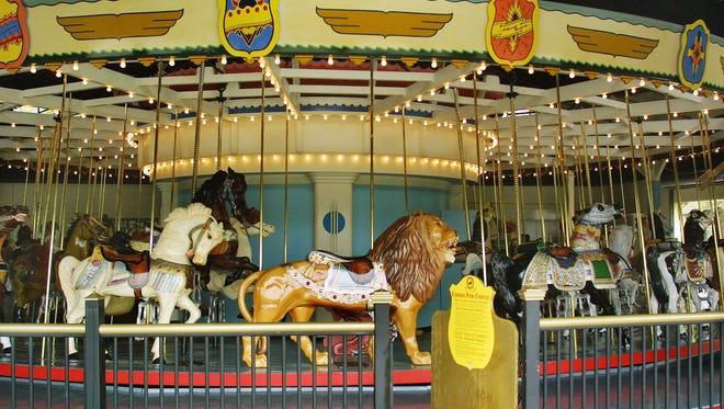 Eldridge Park carousel