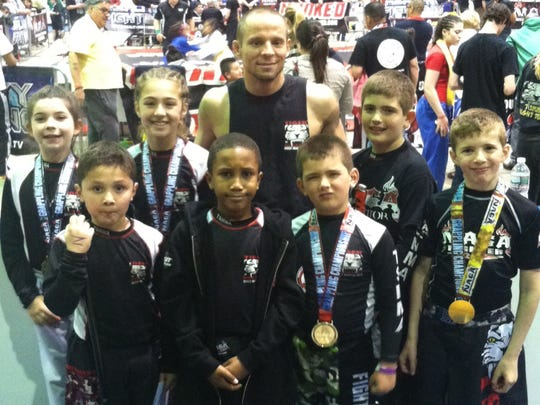 Members of Tiger Schulmann's MMA of Mount Kisco performed well at the North American Grappling Association World Championship on April 27.